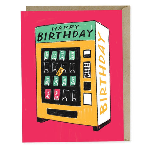 Emily McDowell & Friends Happy Birthday Vending Machine Card