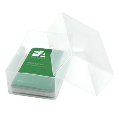 Plastic Storage Box - Small. Pack of 4