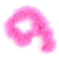 Marabou Feather Trim 2 metre Pack