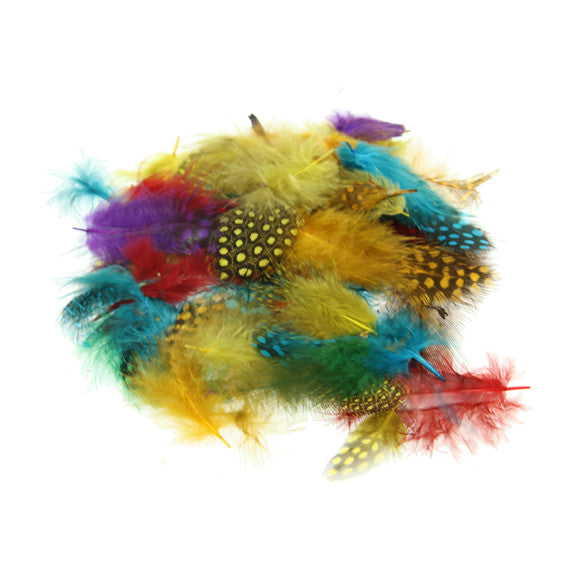 Spotted Feathers - Assorted Colours 7g