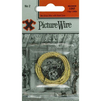 No.2 X Pic Wire