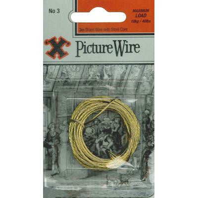 No.3 X Pic Wire