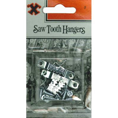 Saw Tooth Hangers