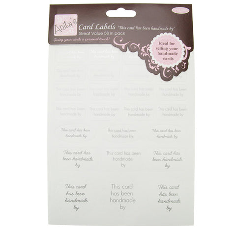 Anitas Card Labels - Handmade By (2Pcs)