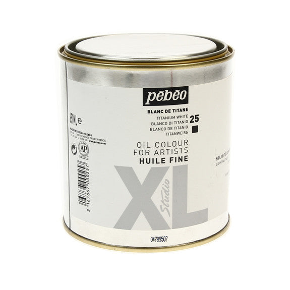 Pebeo Xl Oil 650ml - Titanium White