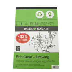 Daler Eco Pad Fine Grain Drawing Pad 120g