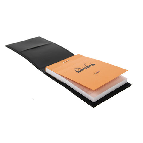 Black Epure Note Pad. Cover Leather Imitation + Pad N°11 Lined 218119C