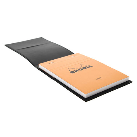 Black Epure Note Pad Cover Leather Imitation + Pad N°13 Lined 218139C