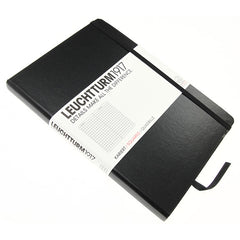 Leuchtturm 1917 Classic Black Hardcover Medium Notebook Squared