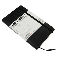 Leuchtturm 1917 Classic Black Softcover Pocket Notebook