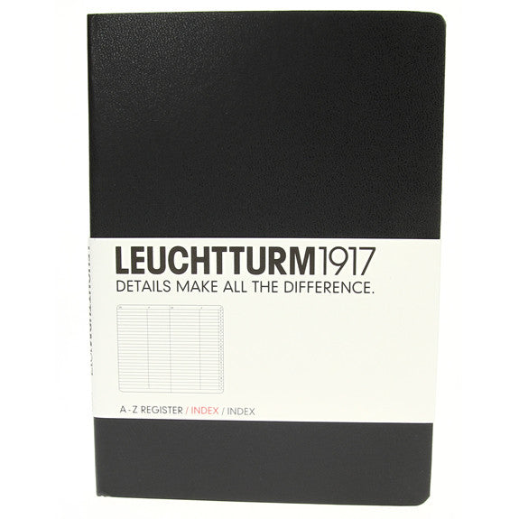 Leuchtturm 1917 Address Book Medium