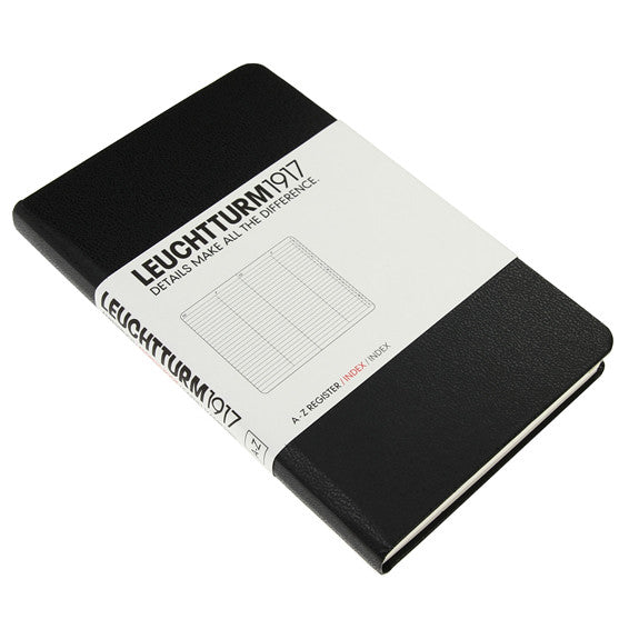 Leuchtturm 1917 Address Book Pocket