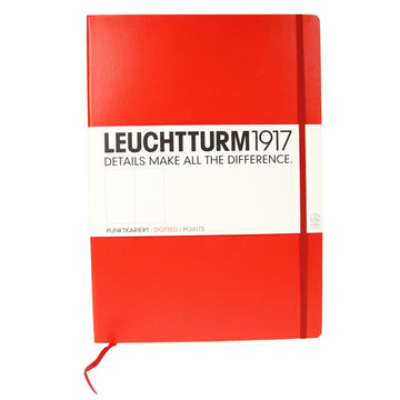 Leuchtturm 1917 Red Master Notebook Dotted