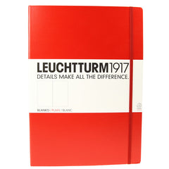 Leuchtturm 1917 Red Master Notebook plain