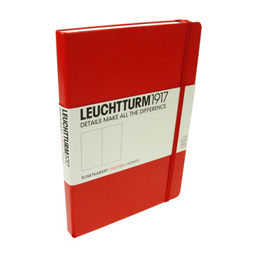Leuchtturm 1917 Red Medium Notebook Dotted