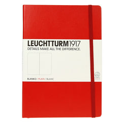 Leuchtturm 1917 Red Medium Notebook Plain