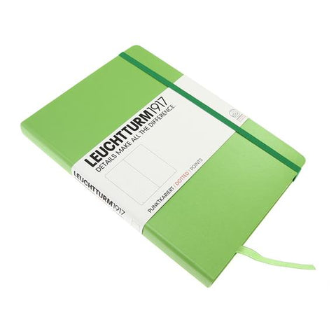 Leuchtturm 1917 Medium Notebook Dotted Lime
