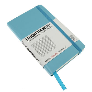 Leuchtturm 1917 Pocket Notebook Squared Turquoise