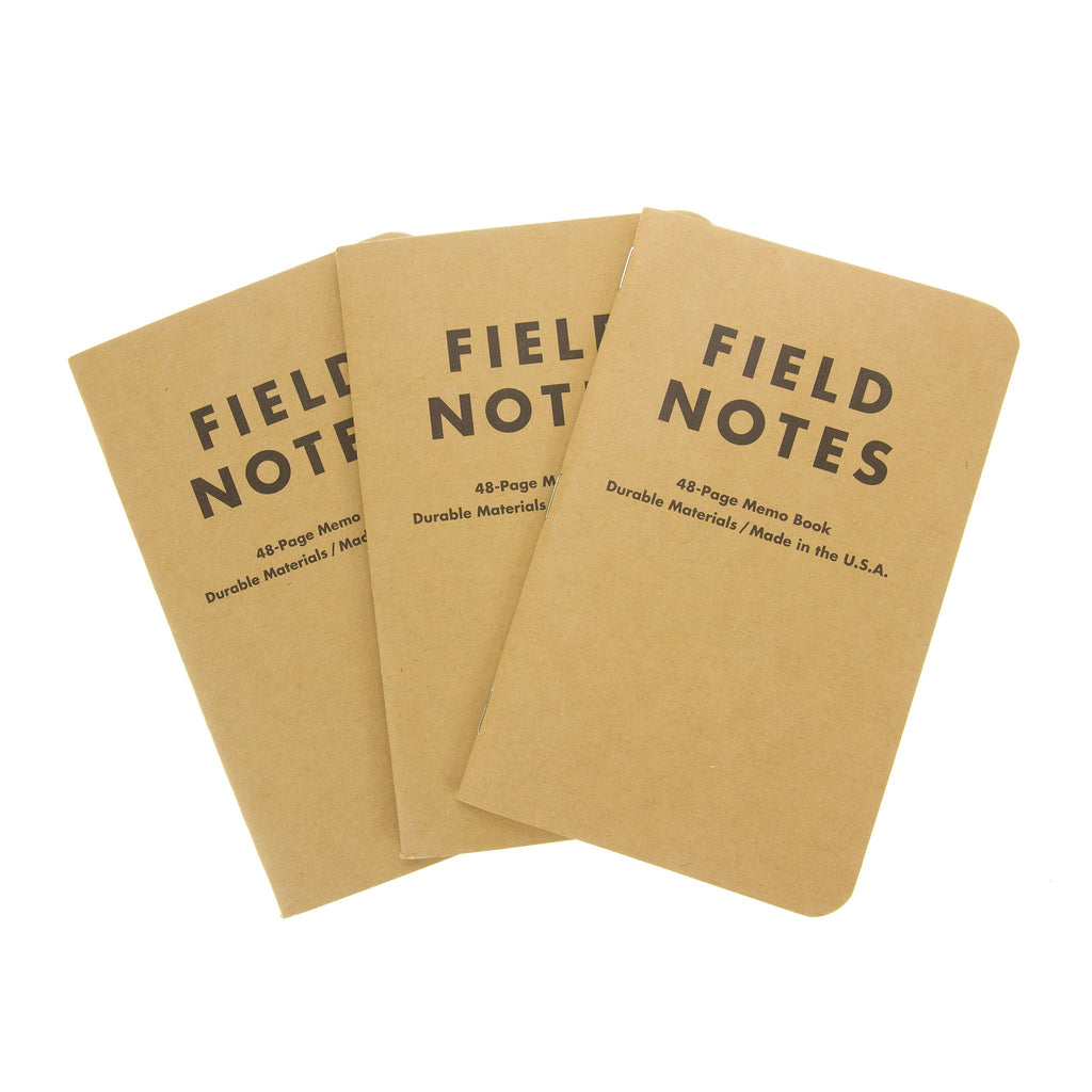 FIELD NOTES Pack of 3 Notebooks - Graph Paper (FN01)