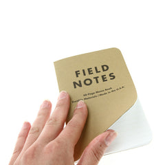 FIELD NOTES Pack of 3 Notebooks - Ruled Paper (FN02)