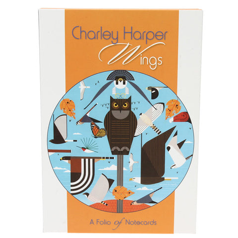 Charley Harper Notecard Folio - Wings