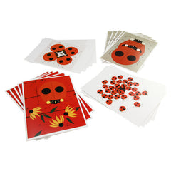 Charley Harper Big Notecards Box - Ladybugs