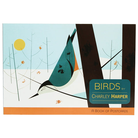 Charley Harper Postcard Book - Birds