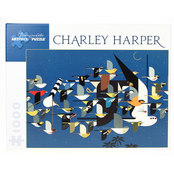 Charley Harper Puzzle - Mystery of the Missing Migrants