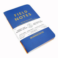 FIELD NOTES x 3 Notebooks - County Fair Edition