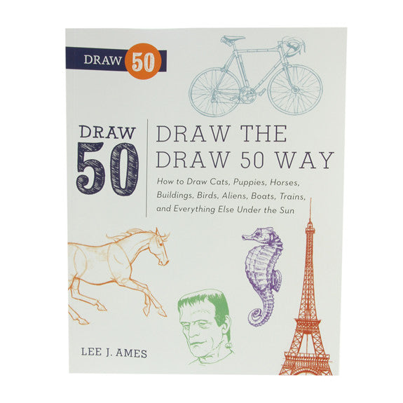 Draw The Draw 50 Way by Lee J. Ames