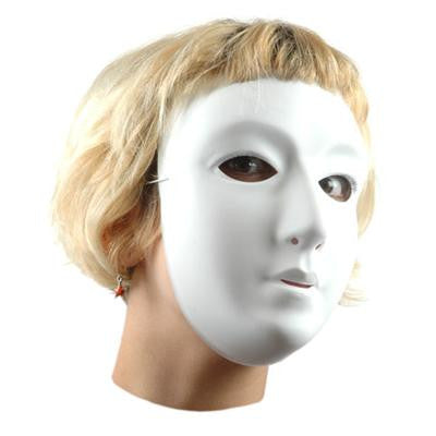 White Plastic Mask