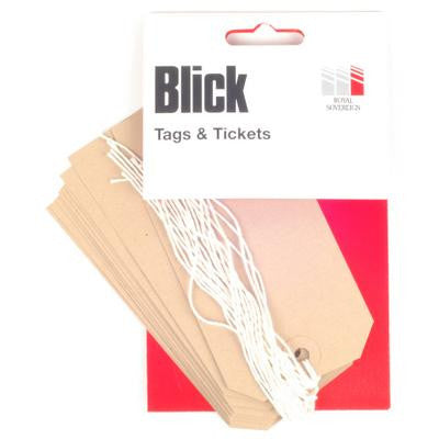 Blick Luggage Tags (10) Buff