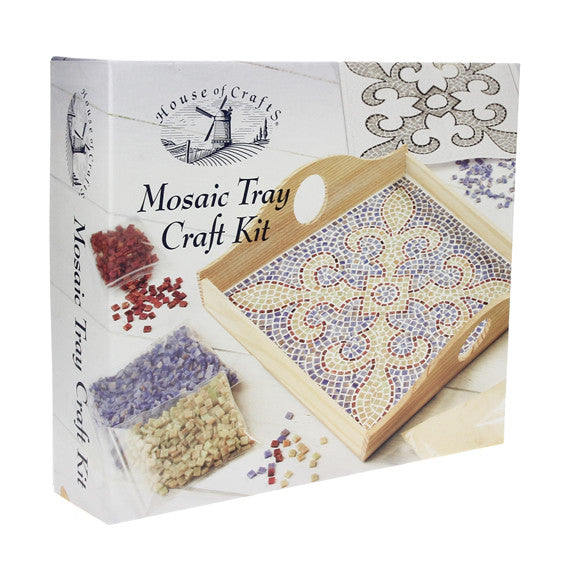 HC490 Mosaic Tray Craft Kit