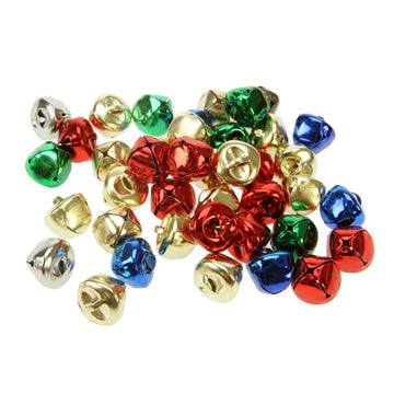 Jingle Bells - 15mm Assorted Colours - 80 Pack
