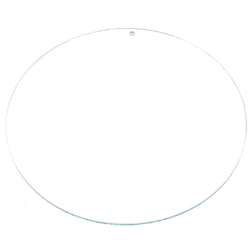 Glass Shape Circle 130mm