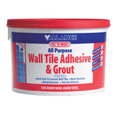 Vallance - Fix n Grout 900gms