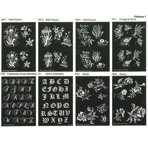 Engraving Pattern Vol 1 Pp1