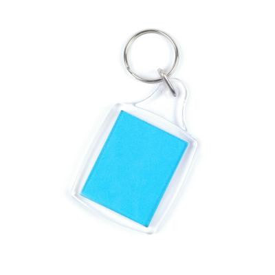 Key Fob Plastic Medium. Pack of 2.