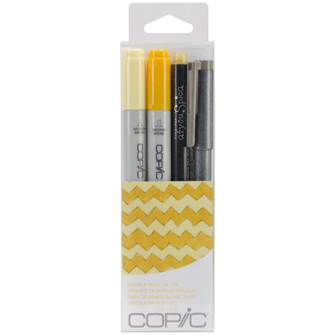Copic Doodle Pack - Yellow