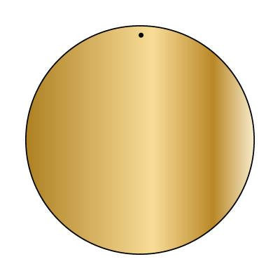 Copper Blank CB23 63 mm Round Pack of 5
