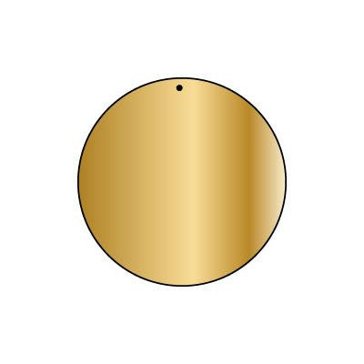 Copper Blank CB63 44 mm Round Pack of 5
