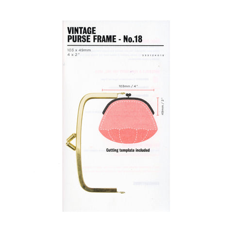 Fred Aldous - Vintage Purse Frame - No.18