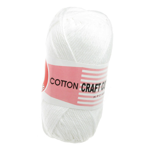Craft Cotton - White