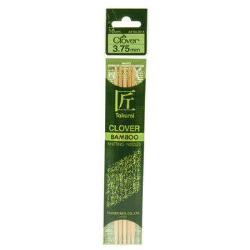 Clover Takumi Bamboo Knitting Needles - 3.75mm - 5pk