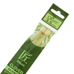 Clover Takumi Bamboo Knitting Needles - 3.5mm - 2pk