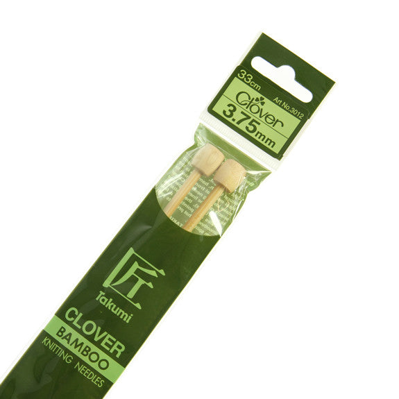 Clover Takumi Bamboo Knitting Needles - 3.75mm - 2pk