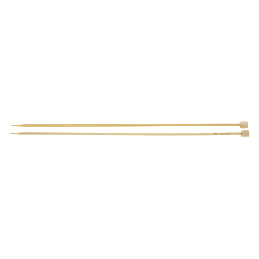 Clover Takumi Bamboo Knitting Needles - 4.0mm - 2pk