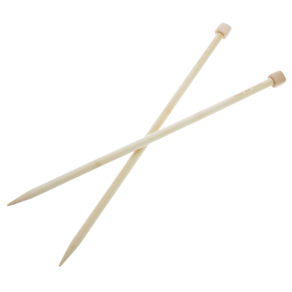 Clover Takumi Bamboo Knitting Needles - 10.0mm - 2pk