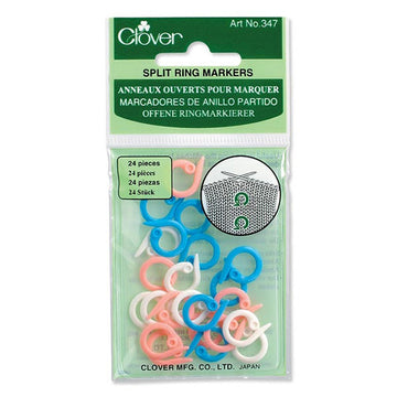Clover Split Ring Stitch Markers