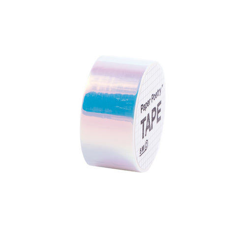 Mirror Rainbow Tape White